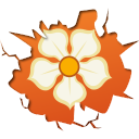 128x128px size png icon of social inside magnolia