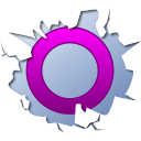 128x128px size png icon of social inside orkut