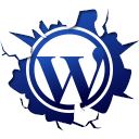 128x128px size png icon of social inside wordpress