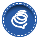 128x128px size png icon of formspring