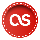 128x128px size png icon of lastfm