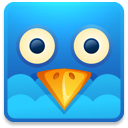 128x128px size png icon of Twitter square