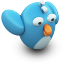 128x128px size png icon of TwittingFlying