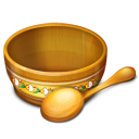 128x128px size png icon of Bowl Empty