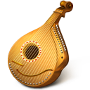 128x128px size png icon of Mandolin