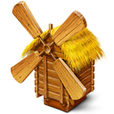 128x128px size png icon of Windmill