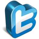 twitter 3d Icon
