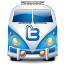 128x128px size png icon of twitter bus