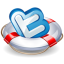twitter lifesaver Icon
