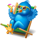 128x128px size png icon of twitter relax
