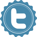 128x128px size png icon of twitter font