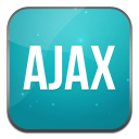 128x128px size png icon of ajax