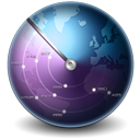 128x128px size png icon of Earth Scan