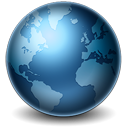 128x128px size png icon of Earth
