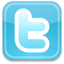 128x128px size png icon of Twitter