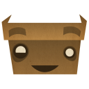 128x128px size png icon of Box
