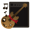 128x128px size png icon of Garageband