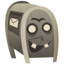 128x128px size png icon of Postbox