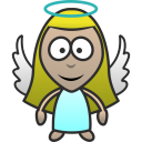 128x128px size png icon of Angel