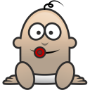 128x128px size png icon of Baby