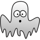 128x128px size png icon of Ghost