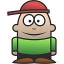 128x128px size png icon of Kid