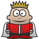 128x128px size png icon of King