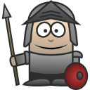128x128px size png icon of Knight
