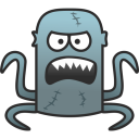 128x128px size png icon of Monster