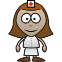 128x128px size png icon of Nurse