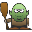 128x128px size png icon of Troll