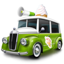 128x128px size png icon of ice cream