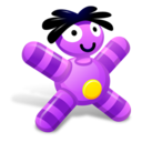128x128px size png icon of Grape Doll