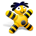 Orange Doll Icon
