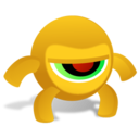128x128px size png icon of CrazyEye Anger 256x256