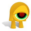 CrazyEye Sad 256x256 Icon