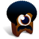 128x128px size png icon of BlackPower creature