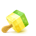 128x128px size png icon of Box 18 Ice Cream Fruid