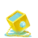128x128px size png icon of Box 21 Water Diamond