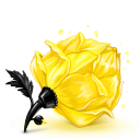 128x128px size png icon of Box 23 Rose Yellow