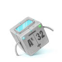 128x128px size png icon of Box 28 Robot