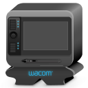128x128px size png icon of monster wacom