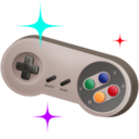 128x128px size png icon of GamePad 04
