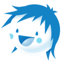128x128px size png icon of Icyspicy blue