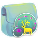 128x128px size png icon of Folder Network