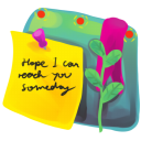 128x128px size png icon of Sticky Note