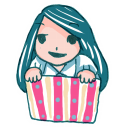 128x128px size png icon of Girl in a Box