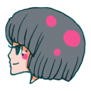 128x128px size png icon of User Girl