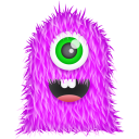 128x128px size png icon of Purple Monster