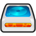 128x128px size png icon of Harddisk